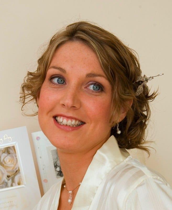 Wedding makeup - Bride Nicola Murphy Ireland 2021