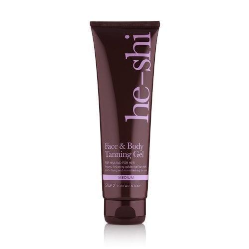 he-shi face & body tanning gel
